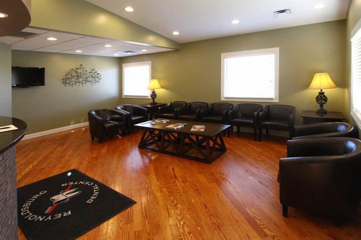 Reynoldsburg Dental Center Waiting Area