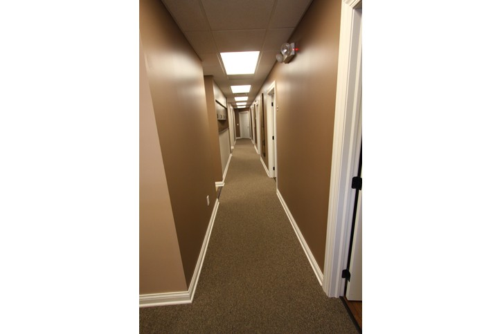 Reynoldsburg Dental Center Hallway