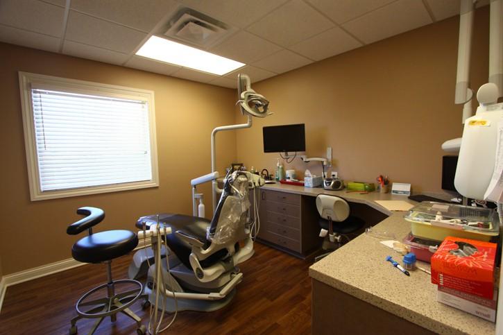 Reynoldsburg Dental Center Cleaning Chair